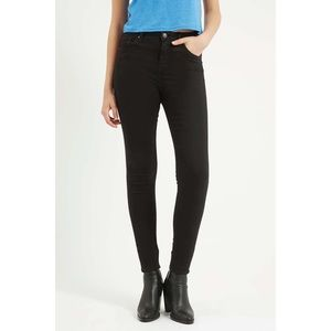 Topshop NWOT Black Jamie Jeans